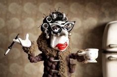 Scene from Mary and Max...a sad, but life changing movie!
