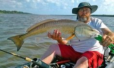 Fish the waterways of St. Augustine in a silent and comfortable #kayak! Bart Swab of Action Kayak Adventures is a licensed and insured guide with a lifetime of #fishing experience on the coastal waterways of Florida. He will be your guide for an exciting journey into the marshes and lake beds of #StAugustine!