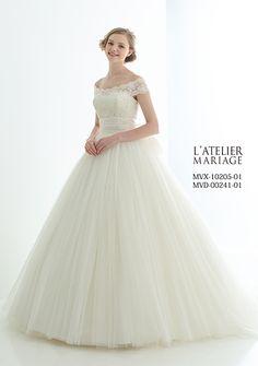 ウェディングドレス|【公式】ティアラ・ブティック|ウェディング衣裳をトータルコーディネート