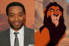 chiwetel ejiofor voice scar ! Lion king 👌🏽👌🏽