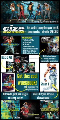 CLICK for the complete review of Beachbody's new CIZE workout program by celebrity trainer, Shaun T. Get the scoop on the CIZE workout meal plan, results, and more! WeighToMaintain.com
