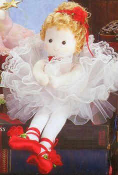 Red Shoes Ballerina Doll | Sundays Child