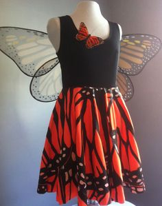 @Fabric.com #DIY butterfly costume. This is so incredible