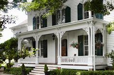 Klassisk amerikansk inredning fint mixat med skandinaviska detaljer - Sköna hem