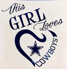 This girl loves cowboys svg Cowboys girls Dallas Cowboys NFL Svg NFL Logo svg Nlf Football Logo Dallas Cowboys Crafts, Dallas Cowboys Quotes, Dallas Cowboys Pictures, Dallas Cowboys Shirts, Dallas Cowboys Football, Pittsburgh Steelers, Football Heart, Football Decor, Football Wreath