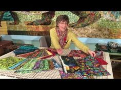 Choosing Fabric for Fabric Collage (Updated with Video) | Susan Carlson Quilts