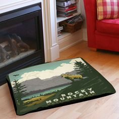 Rocky Mountain National Park Indoor/Outdoor Pet Bed