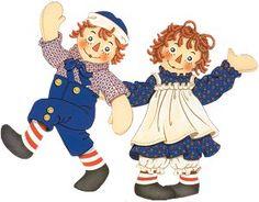 Raggedy Ann & Andy!