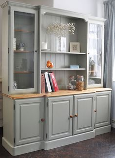 Large Ducal Farmhouse Kitchen/Dining Welsh Dresser - Delivery available | eBay