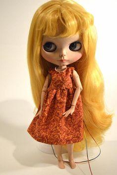 Blythe dress Blythe autumn dress Blythe fall dress Blythe