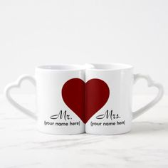 Shop Mr & Mrs Lover's Coffee Mugs created by DmytraszDesigns. Wedding Mugs, Monogram Wedding, Coffee Mug Sets, Mugs Set, Coffee Time, Retirement Gifts For Men, Monogram Coffee Mug, Couple Mugs, Sublimation Mugs