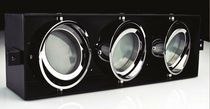 Boat recessed triple downlight (adjustable, LED, for interior lighting)