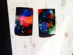 DIY Galaxy notebooks