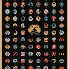 100 Years of Paramount Pictures Poster