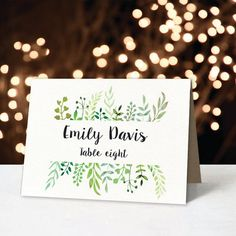 printable foldable wedding place cards tent by DesignYourLove