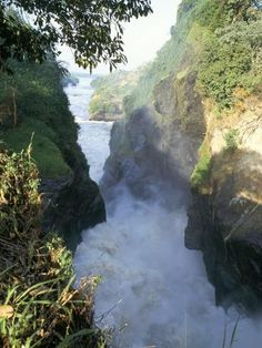 size: Photographic Print: Murchison Falls, Murchison Falls National Park, Uganda, East Africa, Africa by Rob Cousins : Crazy Things To Do With Friends, East Africa, Uganda, Places To See, Beautiful Places, National Parks, Adventure, Landscape, World