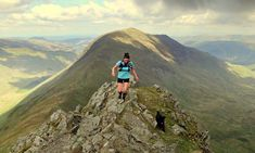 Fell running in the Lake District