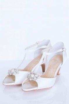 Customize with different straps of brooches! - Angela Nuran Vintage Sandal - available at laurajayne.com