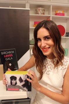 Gala & Birchbox.