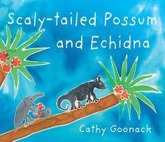 Scaly-tailed Possum and Echidna by Cathy Goonack (Wunambal)