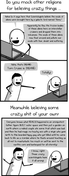 How to suck at your religion - The Oatmeal