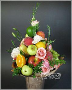 Букеты из конфет и фруктов в Донецке - Букеты из овощей и фруктов | OK.RU