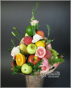 I love this summer fruit arrangement