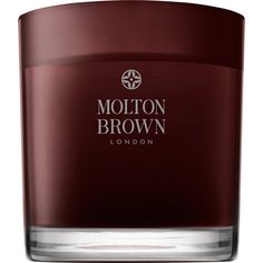 Molton Brown Black Peppercorn Three-Wick Candle featuring polyvore, home, home decor, candles & candleholders, colorless, scented candles, molton brown candle, wick candles, 3 wick candles and three wick candles