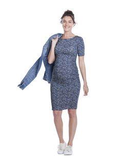 3f453eff16d1d Isabella Oliver Liberty Print T-Shirt Dress #maternitydress #maternitystyle  Maternity Sale, Maternity