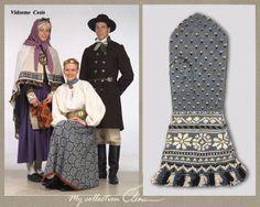 Vidzeme Läti kostüümid