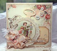 Anne's Paper Fun (blog) Vintage Cafe Card Challenge