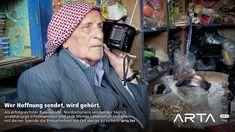 Hoffnung senden: Kampagne für den Radiosender ARTA FM › PAGE online Radios, Page Online, Advertising, Projects, Log Projects, Blue Prints