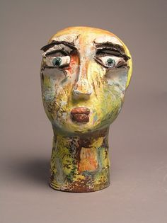 Woman looking - Sara Jane Palmer Ceramics