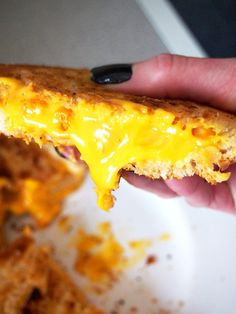 The Ultimate Cheez-It Grilled Cheese