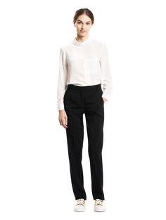 Pantalon tailleur 99 NOIR - Tara Jarmon - Boutique en ligne TARA JARMON