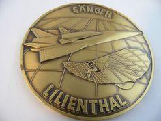 ILA 90 Hannover Sänger Lilienthal Medalie Internationale Luftfahrt-Ausstellung