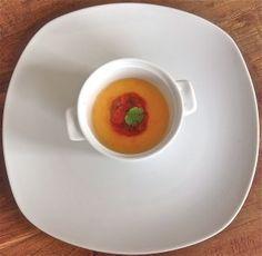 Panna cotta van pompoen met tomatensalsa - www.truitjeroermeniet.be