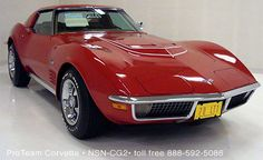 Rarest Corvette Small Block: The Corvette - Corvette: Sales, News & Lifestyle Old Corvette, Corvette Summer, Classic Corvette, Chevrolet Corvette, Chevy, Little Red Corvette, Counting Cars, Fancy Cars, E Type