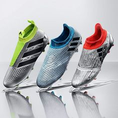 The marvelous adidas Mercury Pack contains some new beauties! The adidas Messi… Adidas Football, Adidas Soccer Shoes, Adidas Nmd_r1, Adidas Boots, Adidas Cleats, Football Shoes, Sports Shoes, Adidas Women, Football Trainers