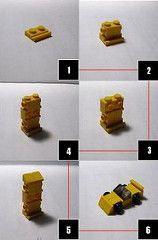 Sports Car Instructions (gmnine) Tags: car lego mini micro instructions lugnuts plutoautomotive jurnbadgersworth