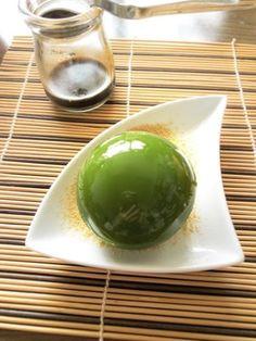 まん丸抹茶の水まんじゅう レシピブログ