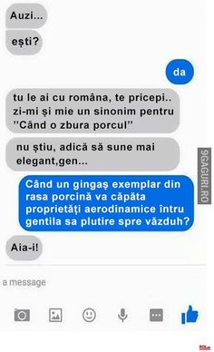 Asa e cel mai bine 🐖 Real Memes, Crazy Funny Memes, Love Memes, Funny Texts, The Funny, Super Funny, Really Funny, Funny Images, Funny Photos