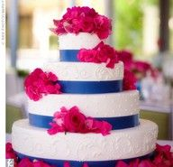 fuchsia and royal blue wedding colors - Google Search