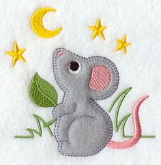 Mouse (Heirloom Applique)