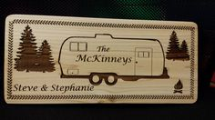 Have a custom sign made at Tim's Wooden Toys  starting at $20 for Cedar Signs.
