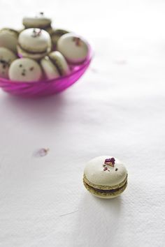 French Macarons - BakeNoir.com (***slightly edited recipe from Sugar Baby with ALL real egg whites)