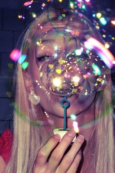 blond, bubbles, christmas, fly, fun