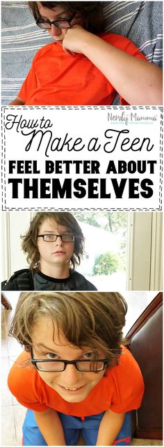 I love this easy, ONE Step to helping a teen feel better about themselves. So awesome. #ad #WhatMakesMeSmile