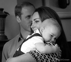 The Duchess of Cambridge with Prince George  during a play date at Royal New Zealand Plunket Society