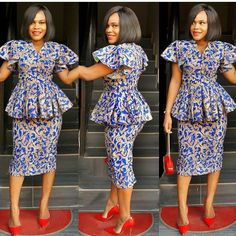 Best Stylish Ankara Styles for Church 2019 - Esther Adeniyi African Print Dresses, African Fashion Dresses, African Attire, African Wear, African Dress, Ankara Fashion, Ankara Gowns, Ankara Dress, Outfit Essentials